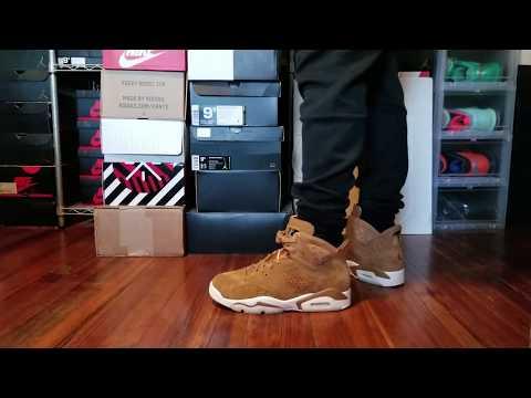 f4b54ff7da0b AIR JORDAN 6 GOLDEN HARVEST WHEAT REVIEW + ON FEET - YouTube