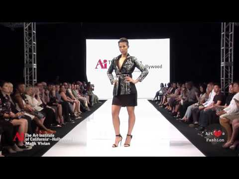 Malik Vivian @ Art Hearts Fashion Week Los Angeles / The Art Institute of California Showcase