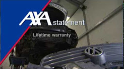 Replica parts fitted to crashed cars as part of  insurance repairs