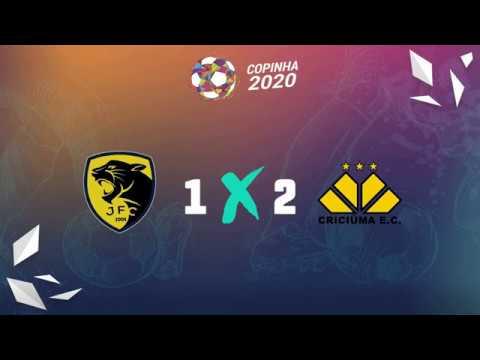 Melhores momentos de Jaguariúna FC 1 x 2 Criciúma (SC)