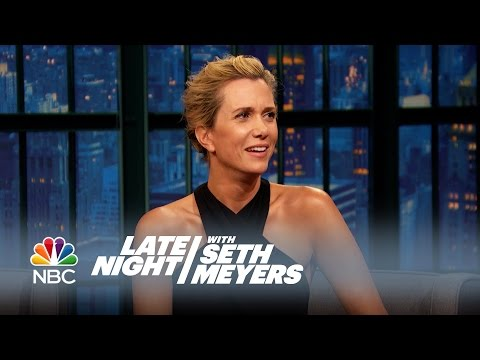 Kristen Wiig and Fred Armisen Dub Late Night Moments - Late Night ...