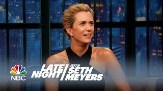 Kristen Wiig and Fred Armisen Dub Late Night Moments - Late Night with Seth Meyers