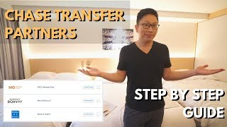 Chase UR Transfer Partners: Step by Step Guide