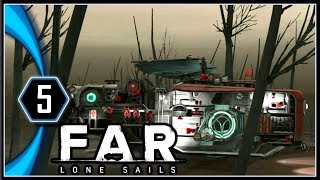FAR: Lone Sails Gameplay PC - Wheel Parts and Minecarts [Part 5]