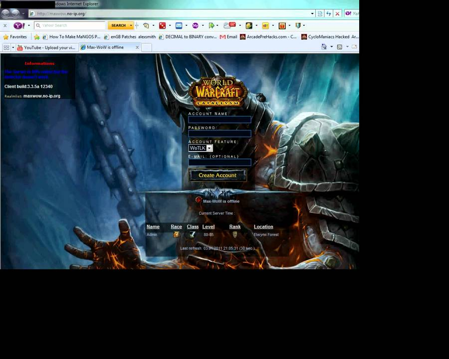 [Reborn]Maximum WoW (Max-WoW) Trinity! ALL-GM world of warcraft Private Server