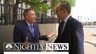Ohio's Governor John Kasich Reveals Why He's Not At The RNC In Cleveland | NBC News