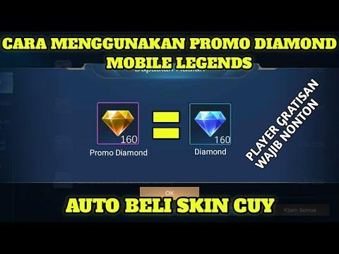 Cara Menggunakan Promo Diamond Mobile Legends Auto B