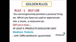MODI CARE 7 BASIC RULES 🤘🤘🤘😎😎😎🤘 TO MULTILEVEL MARKETING STRATEGY