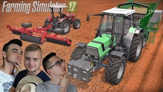 """""""Siew trzciny, bez wazeliny"""", Nowe Wały ☆ """"od Ara do Hektara"""" #42 ㋡ Farming Simulator 17 Platinum MP"""