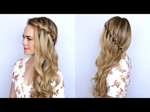 Sideswept Waterfall Braid