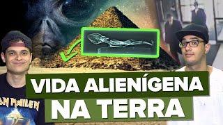 SUSPEITAS DE VIDA ALIENÍGENA NA TERRA