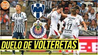 MONTERREY vs CHIVAS | Resumen Completo y Goles ★ D3D2