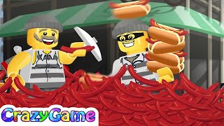 LEGO City Movie Mixer Mashup Funniest Moment - LEGO Mini Movie Cartoon for Children