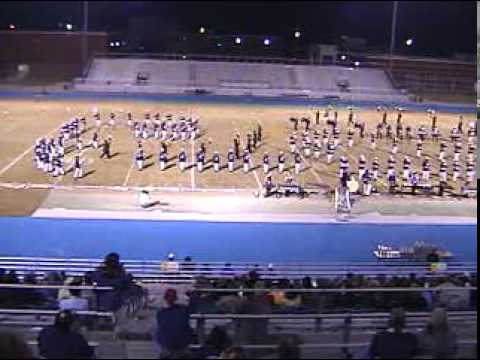 ?Columbus High School Falcons Marching Band Competition Chameleon 2001-2002 CHS  Mississippi MS