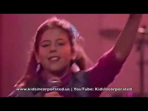 Kids Incorporated Martika Renee Sands And Mario Lopez Dancing
