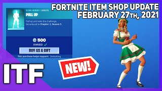 Fortnite Item Shop *NEW* PULL UP EMOTE! [February 27th, 2021] (Fortnite Battle Royale)