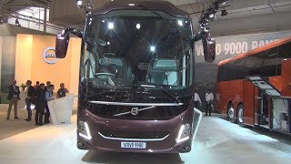 Volvo 9900 Bus (2019) Exterior and Interior