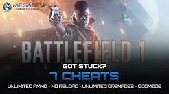 Battlefield 1 Cheats: Unlimited Ammo, Godmode, …   Trainer by MegaDev