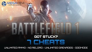 Battlefield 1 Cheats: Unlimited Ammo, Godmode, … | Trainer by MegaDev