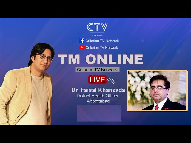 Tm Online | Covid 19 second wave in Pakistan | District Health Officer Abbottabad