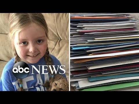 V Mornings - Young Girl Battling Cancer Gets Mail From 100,000 Dogs All Over the World