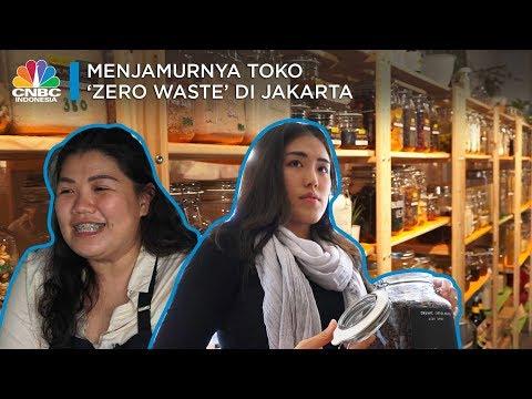 Menjamurnya Toko 'Zero Waste' di Jakarta - YouTube