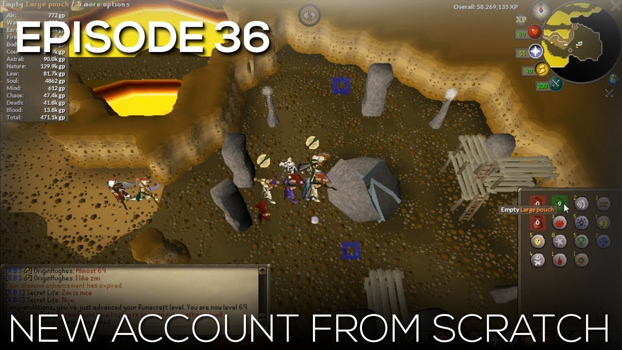 OSRS - New Account from Scratch | EP36 | ANOTHER GOAL COMPLETED!