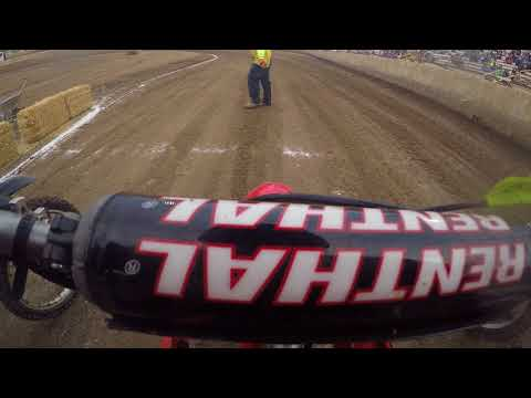 Ventura Raceway 6/16/18 pit bike 125 150 main