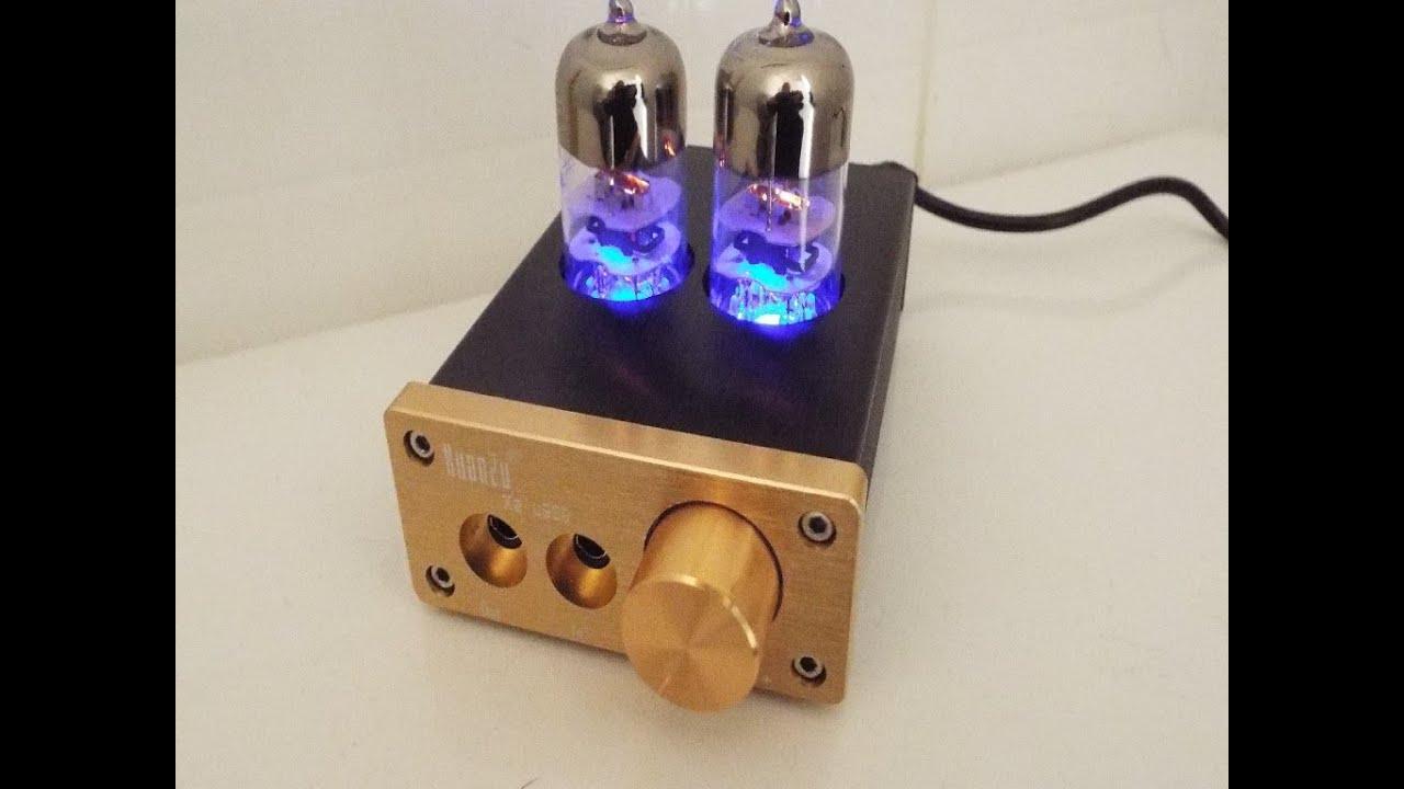 Audio Hifi 6J9 vacuum tube headphone mini amplifier on ...