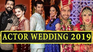 Gambar cover Top 5 Indian TV Celebrities Who Got Married in 2019