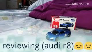 Tomica(Audi r8)☺️😉😊