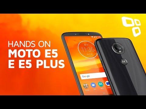 Moto E5 e Moto E5 Plus - Hands On - TecMundo