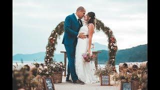 Casamento na Praia | Barracudas Beach Bar | Toque Toque Pequeno - São Sebastião - SP
