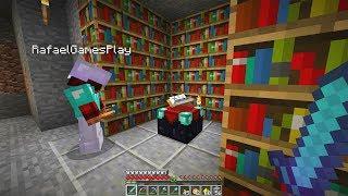 Minecraft Survival (EM DUPLA) #08: ENCANTAMOS NOSSOS ITENS PARA O THE END