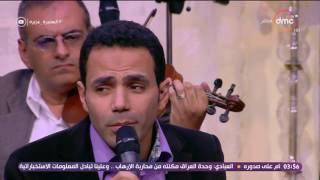 السفيرة عزيزة - المطرب / إبراهيم راشد ... يبدع ويتألق بموال أكثر من رائع للعندليب الأسمر