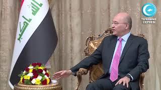 Lider Erşat Salihi, Irak Cumhurbaşkanı Salih İle Görüştü
