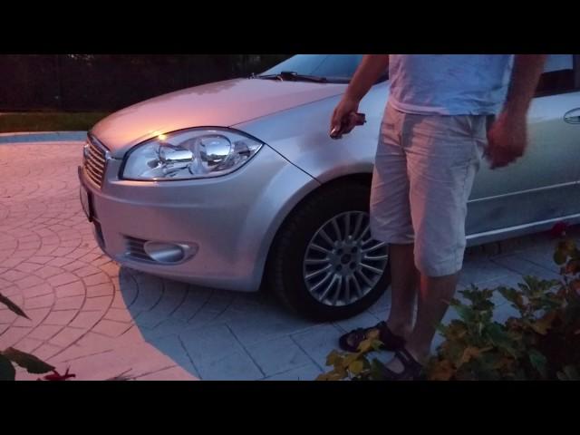 Fiat Linea Sis Karşılama Tesisatı (Follow Me)