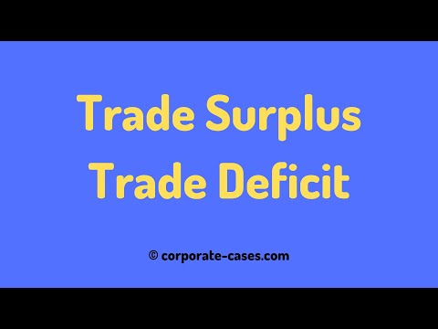 Trade Surplus vs Trade Deficit: Explained with Examples