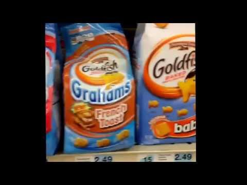 Baby Flavored Goldfish Crackers