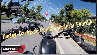 Harley-Davidson Iron 883 ile Teker Yapılmaz Dediler // Terör Estirdik