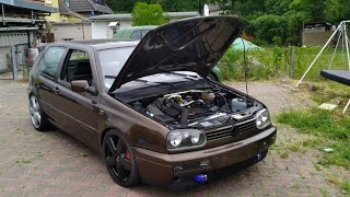 Endspurt Golf 3 Vr6 Turbo #Turbogockel #Vr6 #EMU #Mk3