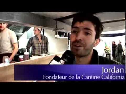 La Cantine California le meilleur Food Truck de Paris visite et hamburger