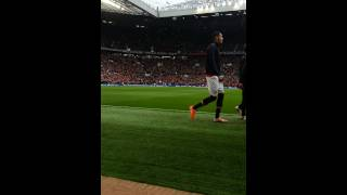 Ryan giggs and united entrance  vs Norwich