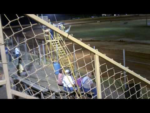 Mini Stock Hot Laps Group B At Modoc Speedway 9-24-2016