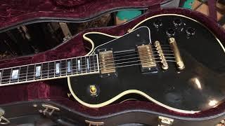 Gibson les paul custom 57 black beauty 2000 showing