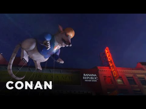 Conan's Macy's Parade Pitches  - CONAN on TBS