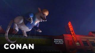 Conan's Macy's Parade Pitches  - CONAN on TBS