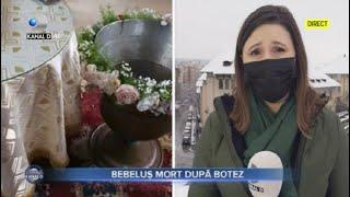 Stirile Kanal D (01.02.2021) - Bebelus mort dupa botez! | Editie de pranz