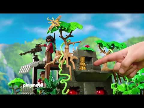 Playmobil Αρχηγείο των Explorers και Τ-Ρεξ
