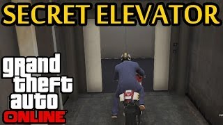 ★ GTA 5 - Secret Elevator In Fort Zancudo Military Base! How To Find It!